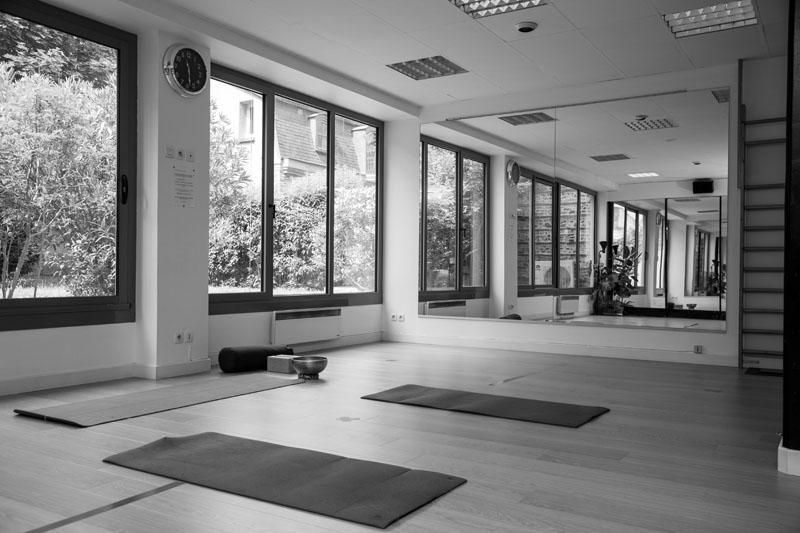 Thais Boissy - salle de yoga